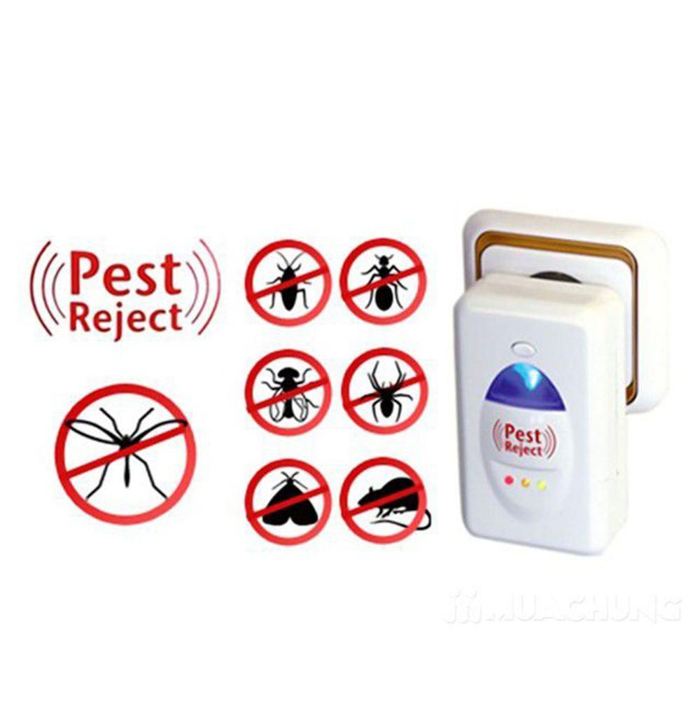 Mua Bóng đèn diệt côn trùng, Làm thế nào để diệt mối tận gốc, Diet moi tan goc, Đèn bắt muỗi đại sinh - Thiết bị đuổi côn trùng PESTREJET  Cao Cấp( Hàng loại 1) Công nghệ sóng siêu âm, đuổi những con vật đang ghét ra khỏi nhà Bạn - Mã