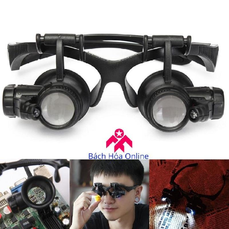 Kính lúp đeo mắt có đèn 9892G