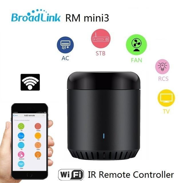 Remote Điều Khiển Từ Xa Nhà Thông Minh Broadlink RM Mini 3