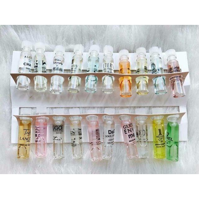 Hình ảnh Nước hoa mini bộ test 20 mùi hàng chuẩn pháp