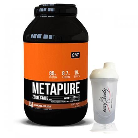 QNT Isolate Whey Protein Zerocarb hương Socola  2Kg tặng bình lắc Trắng