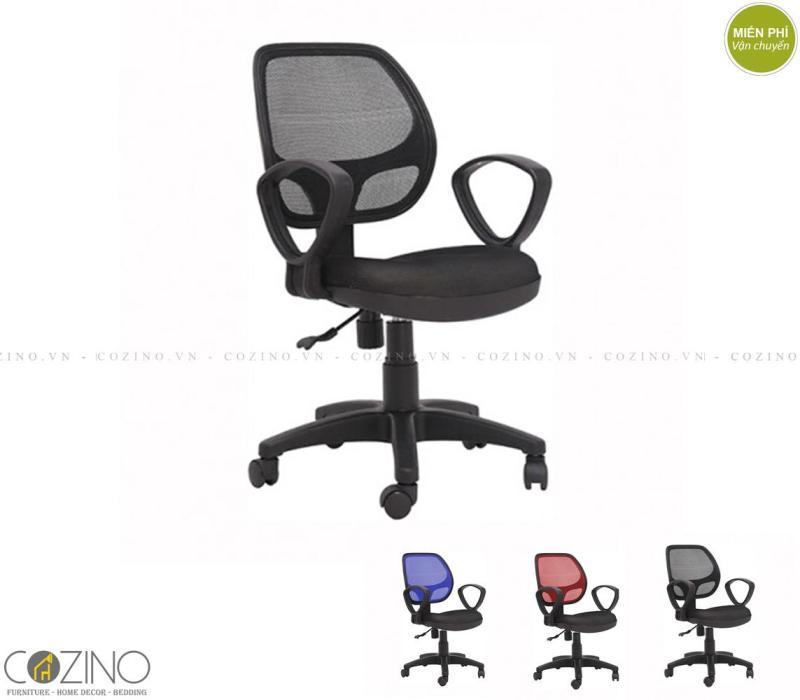Ghế lưới CZN501 có tay màu đen giá rẻ