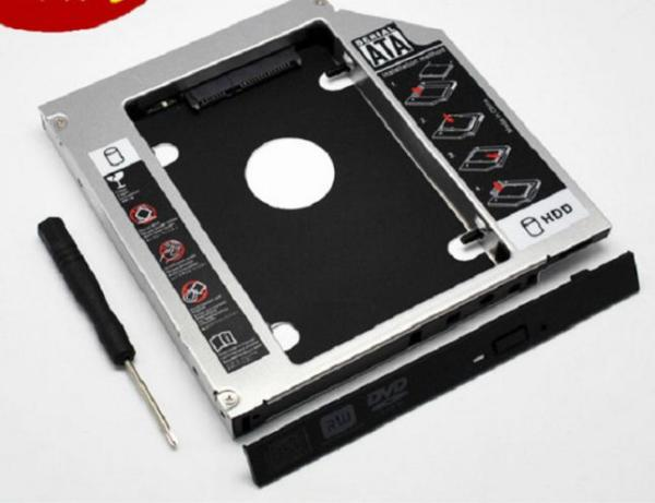 Bảng giá Caddy Bay SATA 3.0 - 9.5mm gắn thêm ổ cứng HDD SSD cho Laptop - Tặng Tovit Phong Vũ