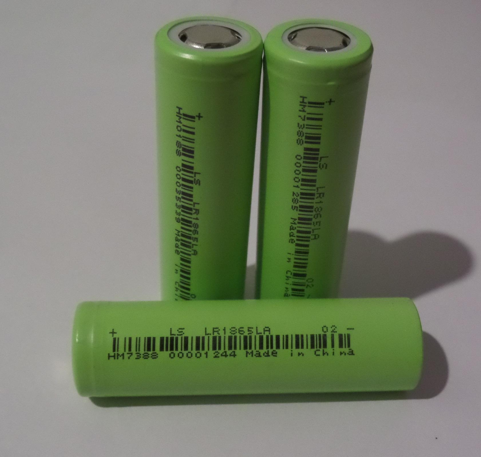 Hình ảnh COMBO 3 Cell Pin LiShen (LS) - Li-ion LR18650LA - Dung lượng 2000mAh - Dòng xả cao 20A - Chuyên dùng cho pin máy khoan và Dụng Cụ Cầm Tay