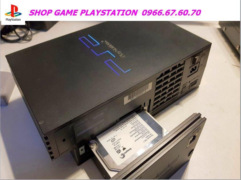 Hình ảnh MÁY GAME PS2 Ổ CỨNG (80 >100 game) CÓ PES 2019