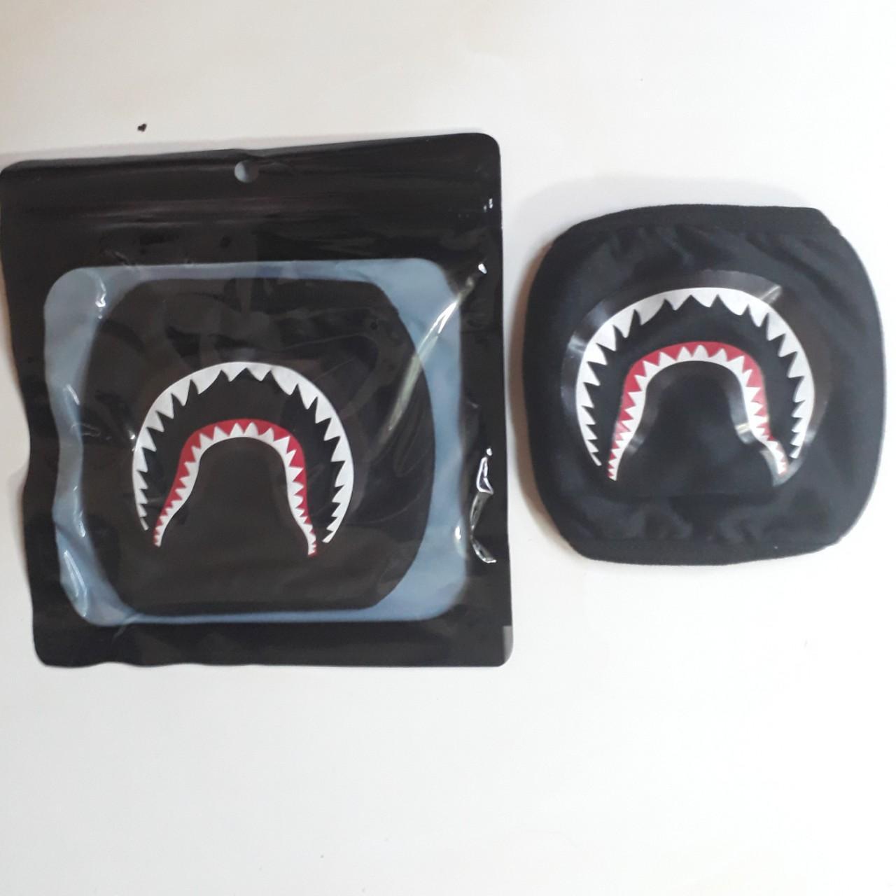 Hình ảnh Khẩu trang Bape cá mập hàng chuẩn loại 1, ảnh shop tự chụp nhé