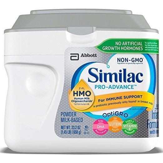 Mã Khuyến Mại Sữa Similac Pro Advance Non Gmo Hmo Cho Be Từ 12 Thang 658G Của Mỹ
