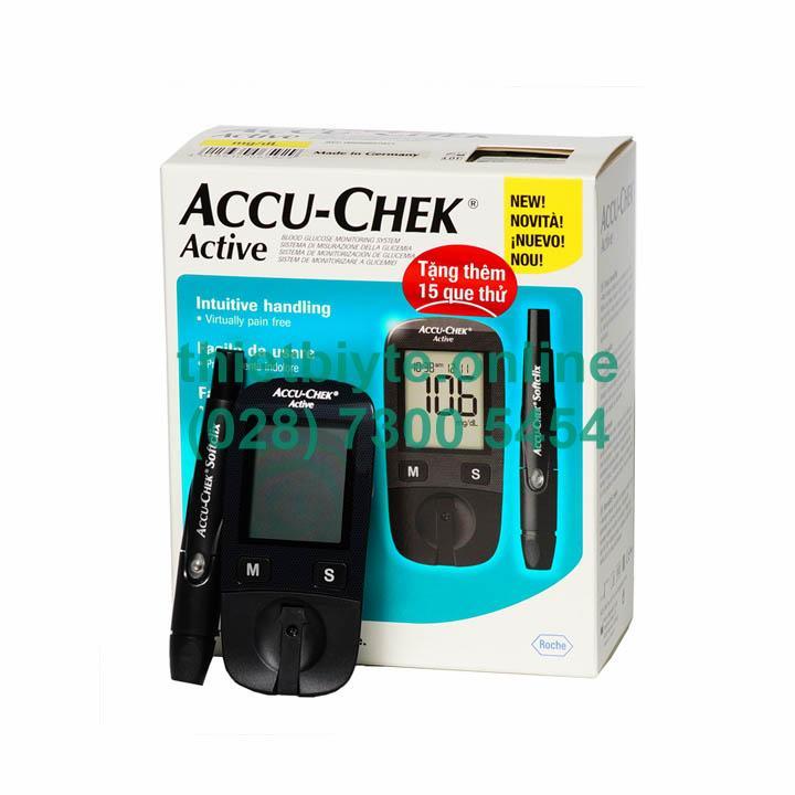 Hình ảnh Máy đo đường huyết AccuChek Active GU (thế hệ mới)