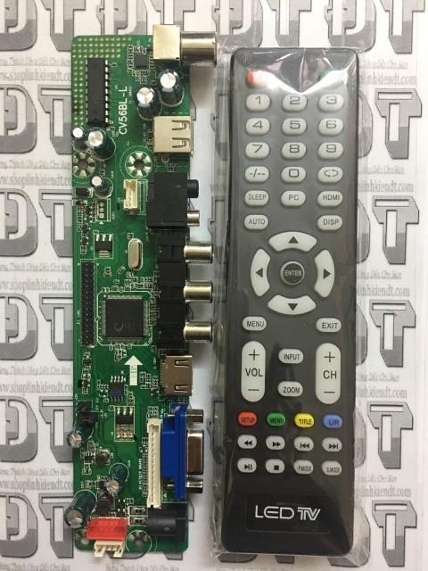 Bo Tivi đa năng V56 (có HDMI) nạp FW tự động