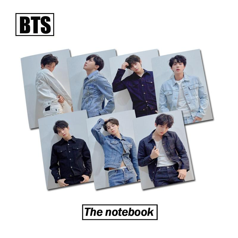 Mua Sổ tay BTS BangTan 24 trang giấy đẹp f150