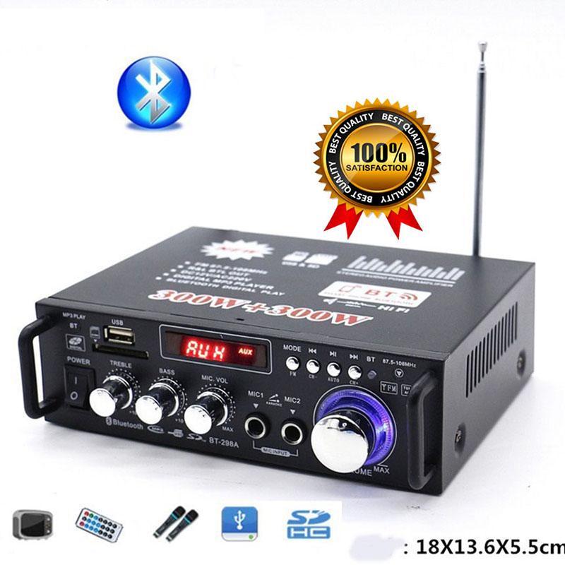 Hình ảnh Giá âm ly, Ampli đèn, Amply Bluetooth mini công suất lớn, bảo hành 1 đổi 1, M140