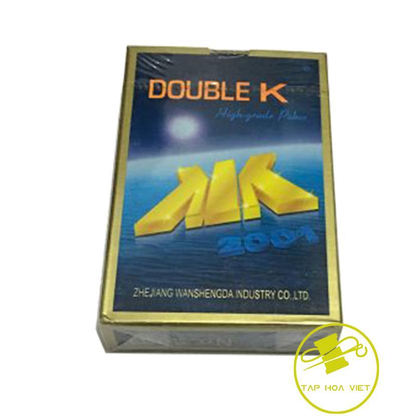 Hình ảnh Combo 3 bộ bài tây, tú lơ lơ, bài doueble K (Xanh)