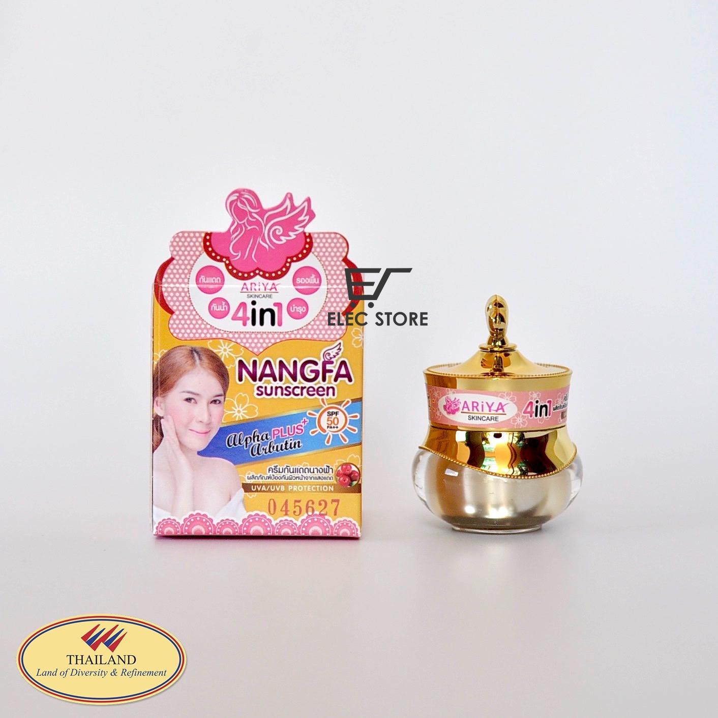 Kem chống nắng Nangfa Sunscreen 4 in Thái Lan