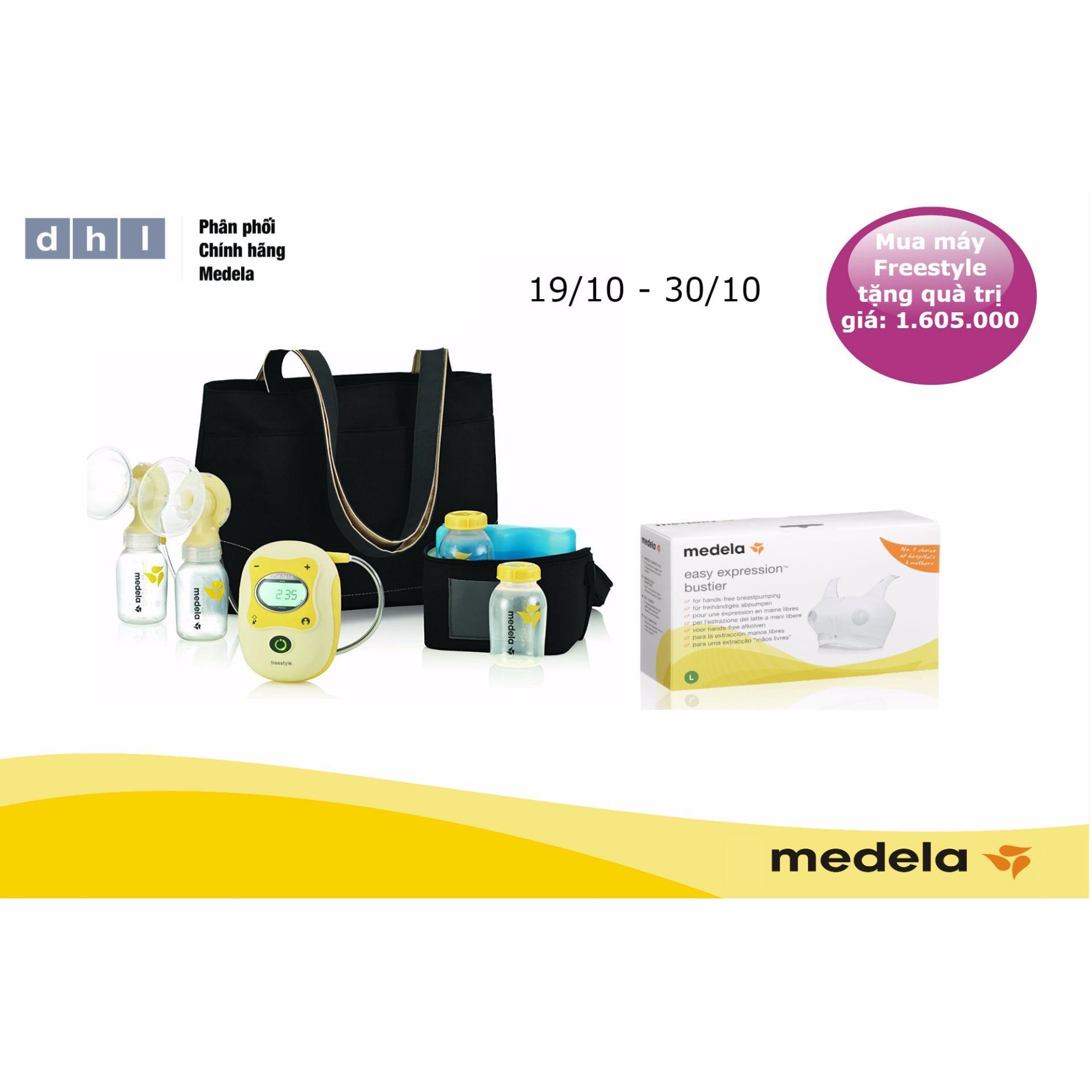 Ôn Tập May Hut Sữa Medela Freestyle Tặng 1 Ao Hut Sữa Rảnh Tay Easy Va 1 Num Calma Hang Phan Phối Chinh Thức Medela Thụy Sĩ Trong Hà Nội