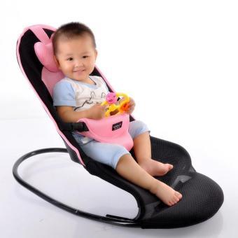 Ghế rung cho bé - Ghế rung có khung treo gấu ngộ nghĩnh, chất liệu cao cấp, bền đẹp, giúp bé dễ dàng có giấc ngủ ngon