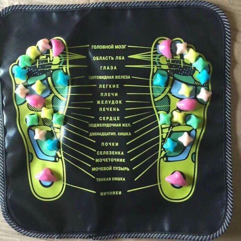Thảm Massage sơ đồ huyệt lòng bàn chân cao cấp