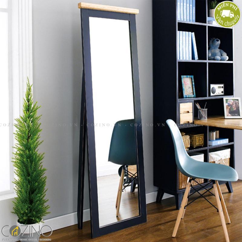 Gương đứng Lantana gỗ tự nhiên