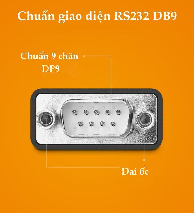 Cáp chuyển đổi USB 2.0 sang 2 cổng COM và 4 cổng COM RS232, chuẩn DB9, dài 1.5m UGREEN US229
