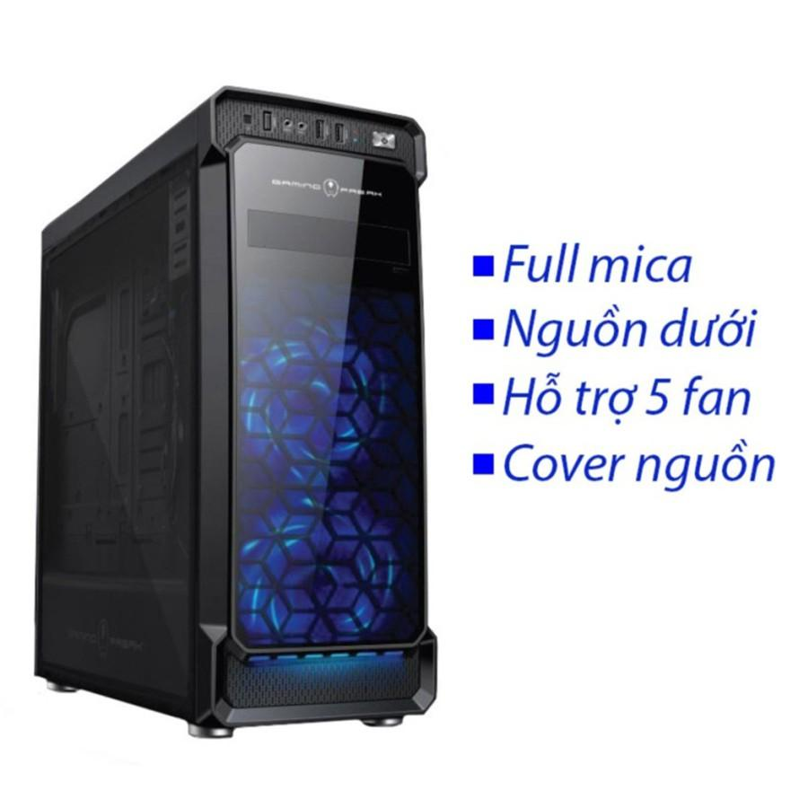 Case DR1 2 mặt trong suốt