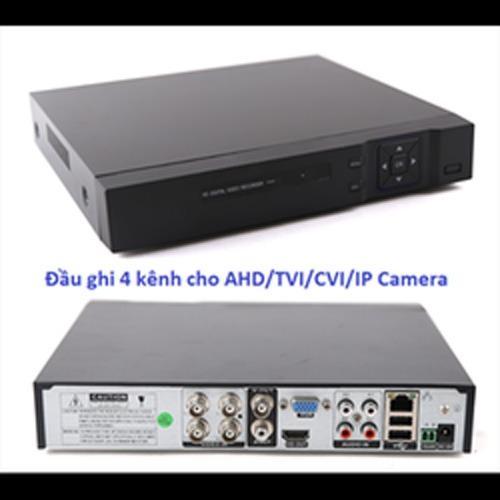 Hình ảnh ĐẦU GHI HÌNH CAMERA ĐẦU GHI CAMERA AHD TVI CVI IP 5 in 1 - IP 8 KÊNH - HVR-04 KÊNH ANNLOG