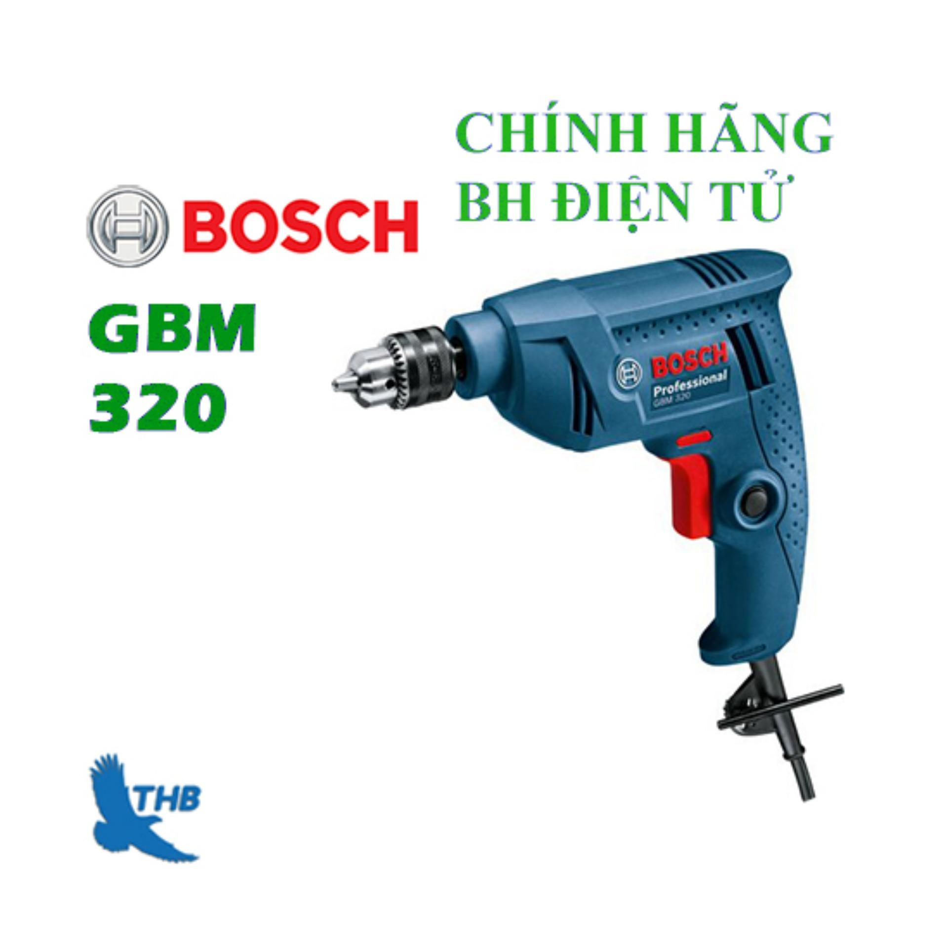 Máy khoan cẩm tay Bosch GBM 320