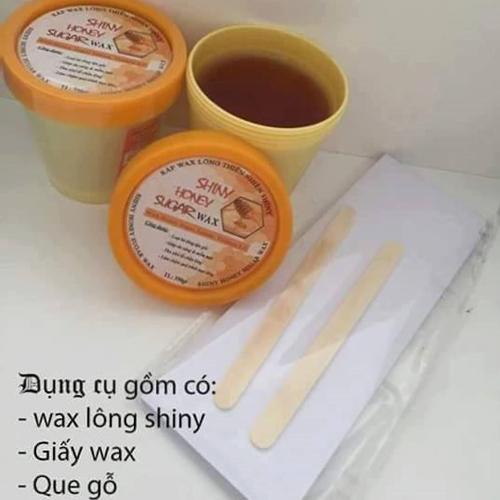 Wax triệt lông vĩnh viễn 350g tặng 2 que gỗ +1 bịch giấy Wax nhập khẩu