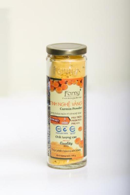 Tinh nghệ vàng Forny (hũ) 150g FS (tinh bột nghệ) (Tinh bột nghệ nguyên chất) cao cấp