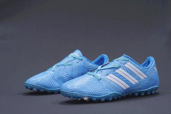 Giày Đá Bóng Messi New xanh biển