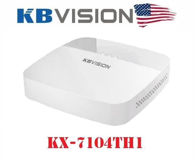 Đầu ghi hình 4 kênh 5 in 1 KBVISION KX-7104TH1
