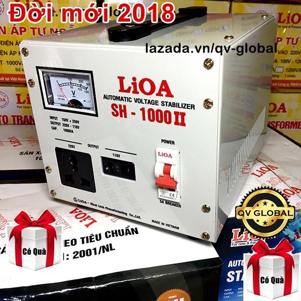 Giá Bán Ổn Ap Lioa 1 Pha 1Kva 1000W 2018 Keo Điện Từ 150V Len 220V Sh 1000 Trong Hà Nội