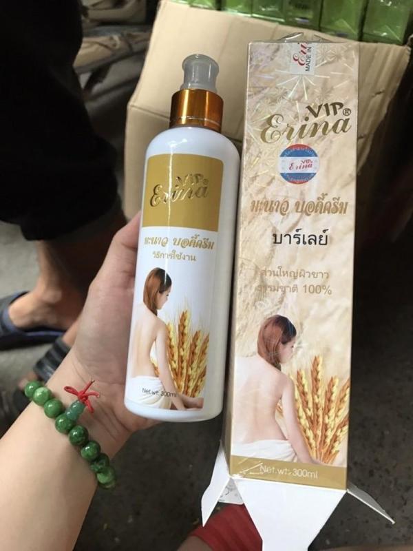 Sữa tắm Trắng da Ngọc Trai Sữa Non & Lúa Mạch Erina 300ml