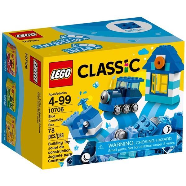 LEGO - Hộp Lắp Ráp Classic Màu Xanh Da Trời - 10706