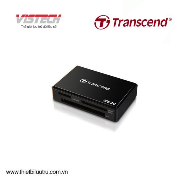 Đầu đọc thẻ nhớ Transcend RDF8K USB3.0 (Đen)