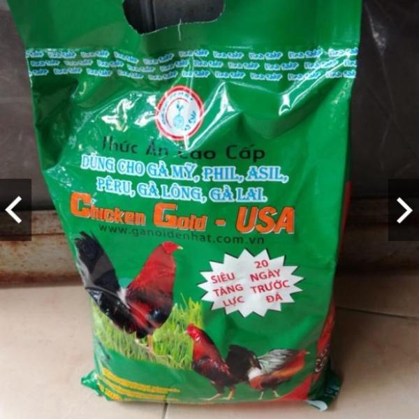 Chicken Gold - Thức ăn cho Gà Mỹ, Asil, Peru...2 Kg.