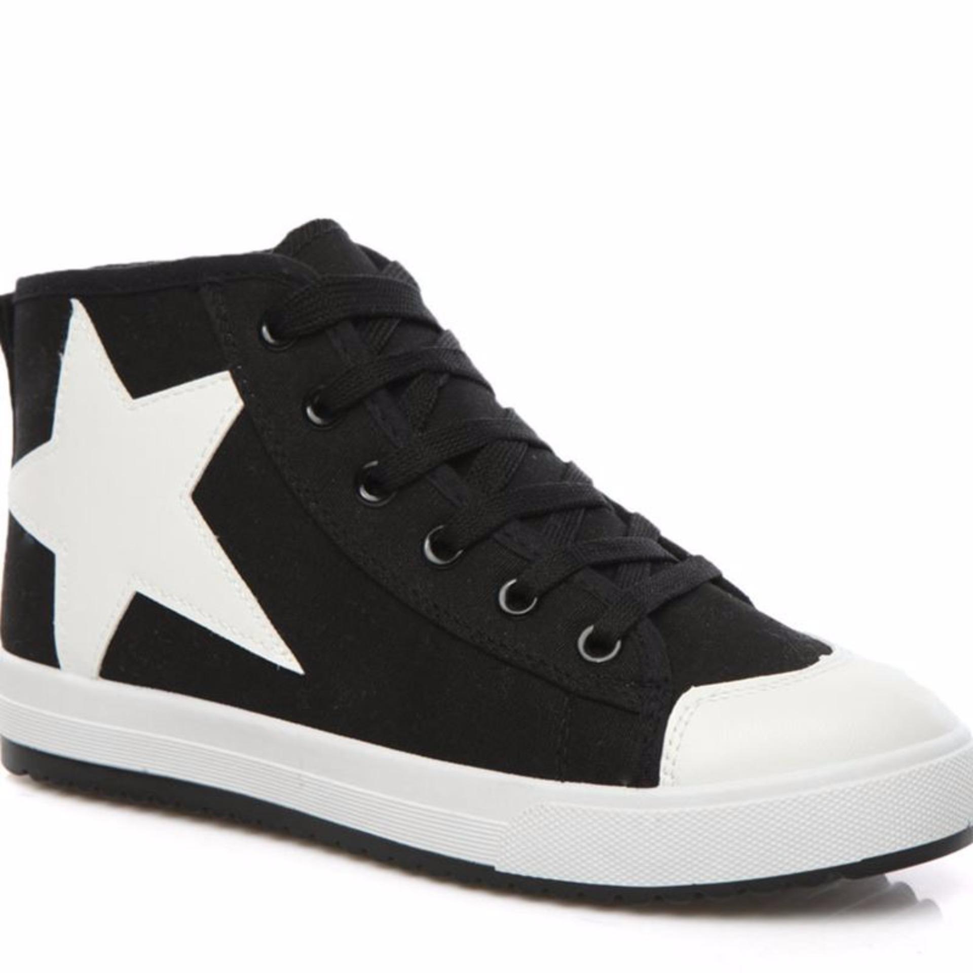 Chiết Khấu Giày Sneaker Thời Trang Nữ Erosska Gn007 Đen Zapas