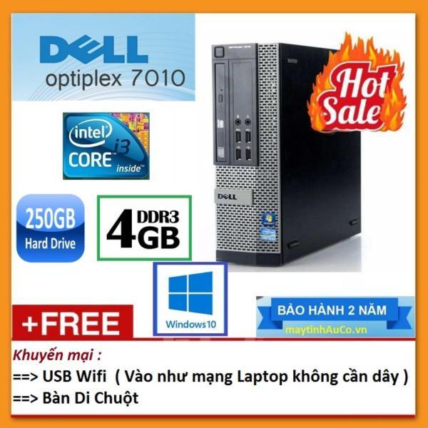 Bảng giá Máy tính đồng bộ Dell Optiplex 7010 Intel Core i3 2120 3.3GHz, Ram 4GB, HDD 250GB , bàn di - Hàng nhập khẩu. Phong Vũ