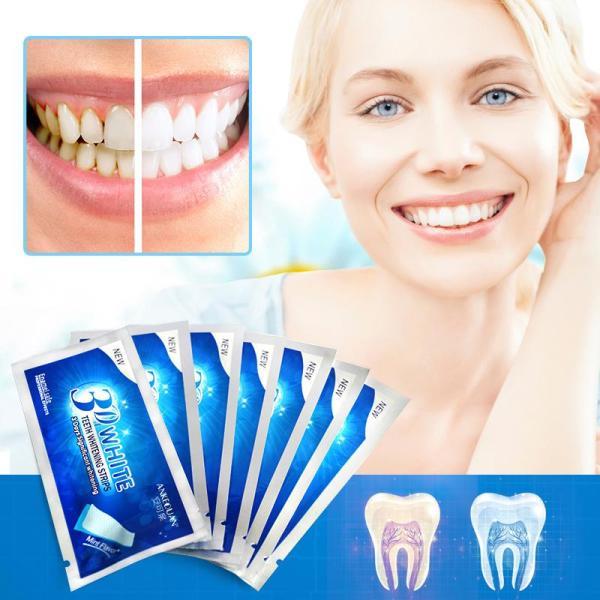 Miếng dán dưỡng trắng răng hiệu quả 17k giá rẻ