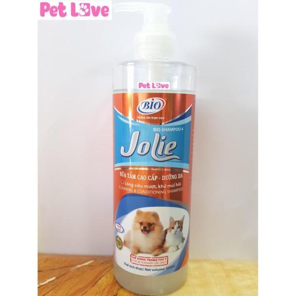 Sữa tắm Bio Jolie (450ml) dưỡng lông chó mèo siêu mượt, khử mùi hôi