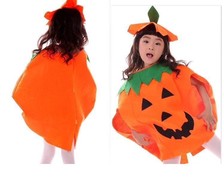 Hình ảnh Bộ đồ hóa trang Halloween quả bí ngô cho bé