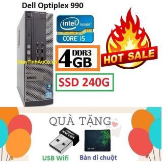 Thùng Đồng Bộ Dell Optiplex 990 (Core i5 2400 4G SSD 240G ), Tặng USB Wifi , Bàn di chuột , Bảo hành 02 năm - Hàng Nhập Khẩu thumbnail