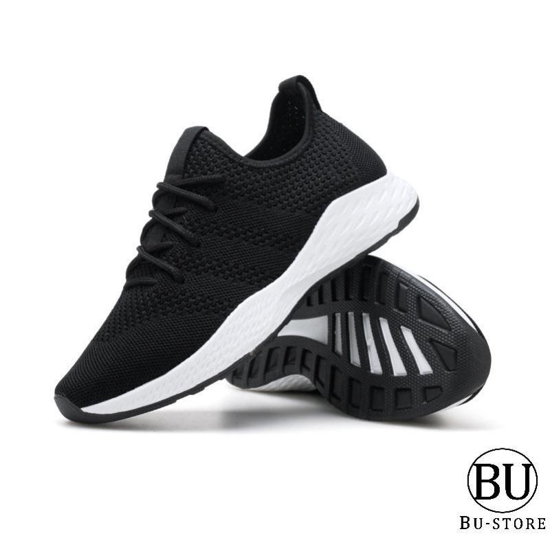 Giày thể thao nam thoáng khí, khử mùi Hàn Quốc có đế chống trơn trượt Bu-Store - BS2 (tặng kèm 1 đôi tất chống hôi chân)