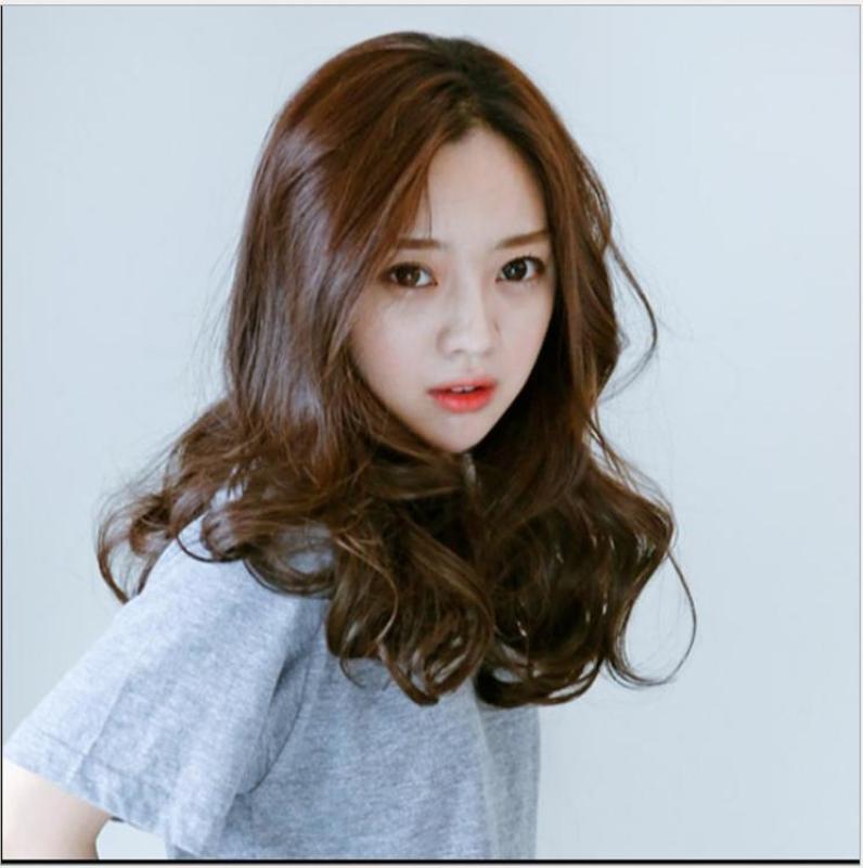 [TẶNG LƯỚI TRÙM] Tóc giả nữ Hàn Quốc cao cấp có da đầu - TG1070 ( MÀU NÂU HẠT DẺ ) nhập khẩu