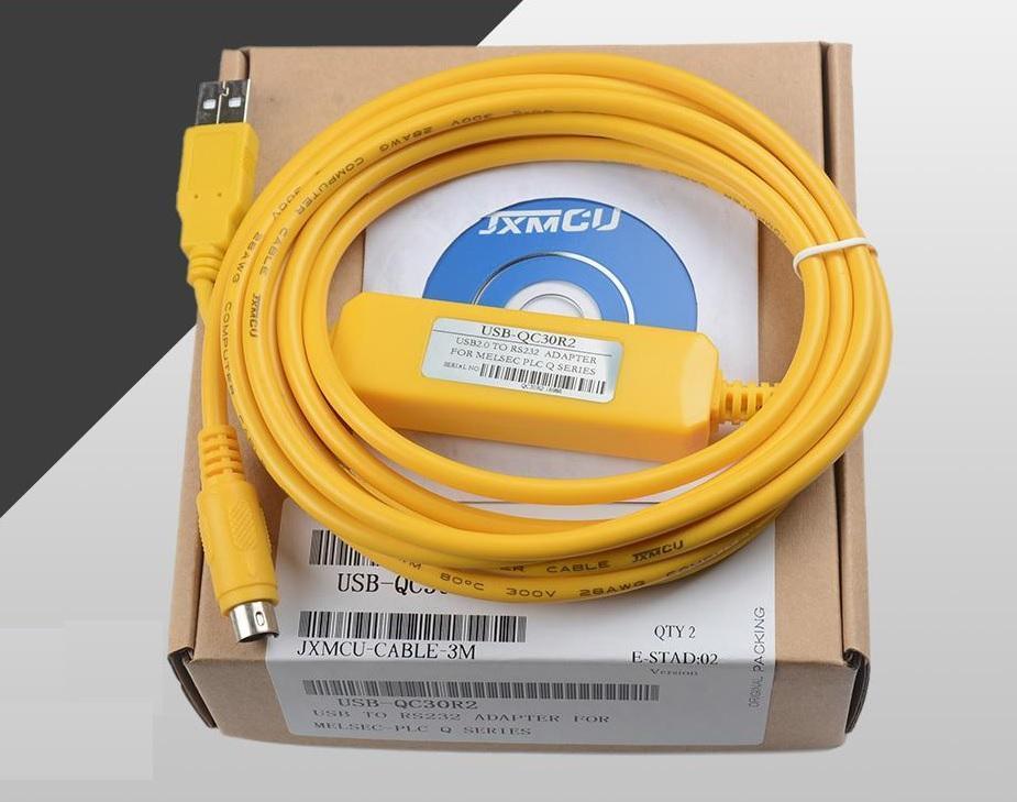 Cáp lập trình USB-QC30R2 cho PLC Melsec Q