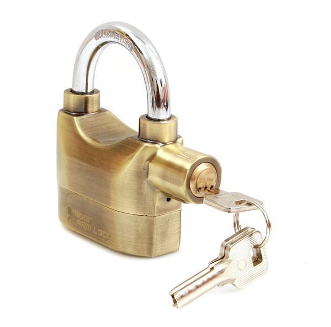 Ổ khóa báo động chống trộm (Vàng Đồng)
