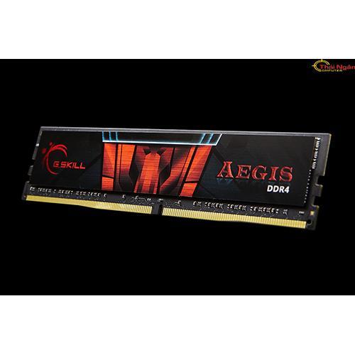 Hình ảnh Ram GSKILL 4GB DDR4 Bus 2400 F4-2400C15S-4GIS - Tản nhiệt lá