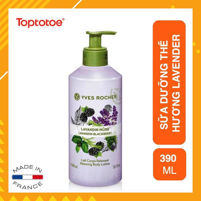 Sữa Dưỡng Thể Yves Rocher Lavandin Blackberry Relaxing Body Lotion 390ml