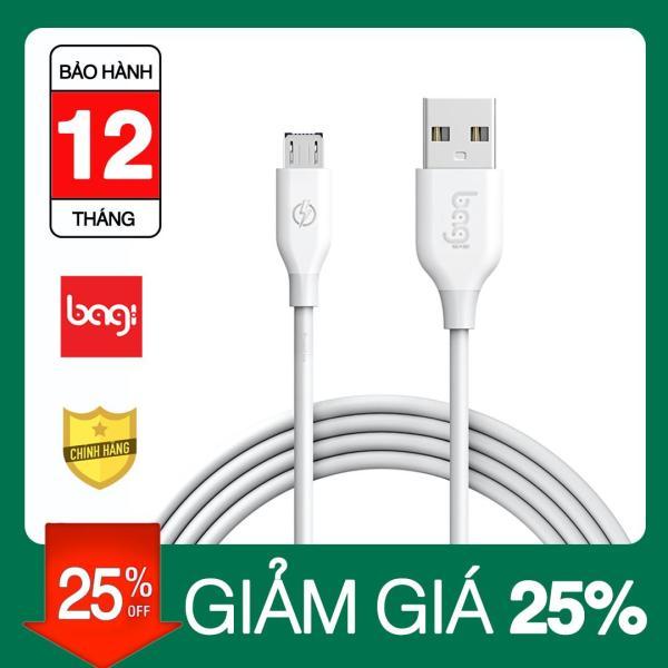 [Nhập ELMAR31 giảm 10% tối đa 200k đơn từ 99k]Dây sạc Bagi Micro USB dài 15M hộp gài CB-MA15