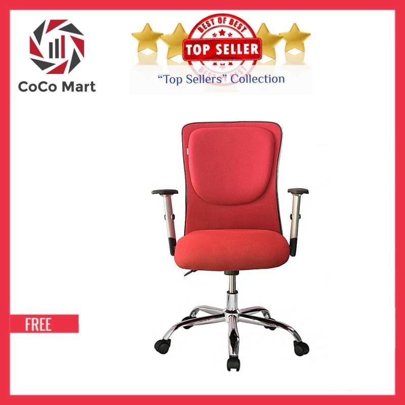 Ghế Trưởng Phòng Cao Cấp Chân Xoay CoCo241 (Đỏ) giá rẻ