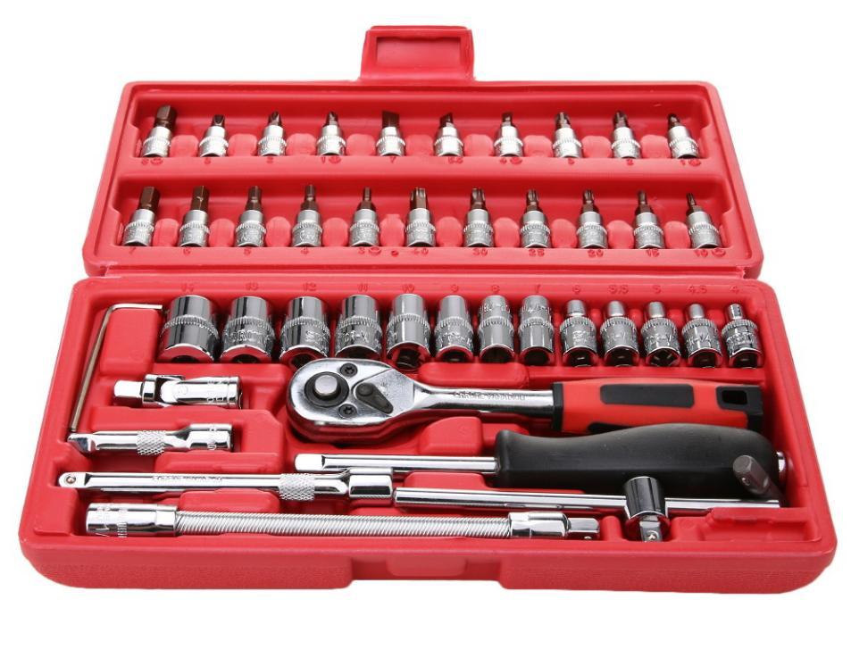 Hình ảnh Bộ hộp 46 chiếc dụng cụ sửa chữa