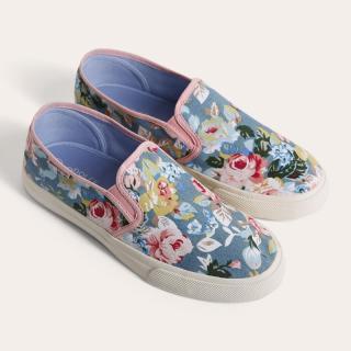 Giày Sneaker D&A L1607 bò In hoa thumbnail